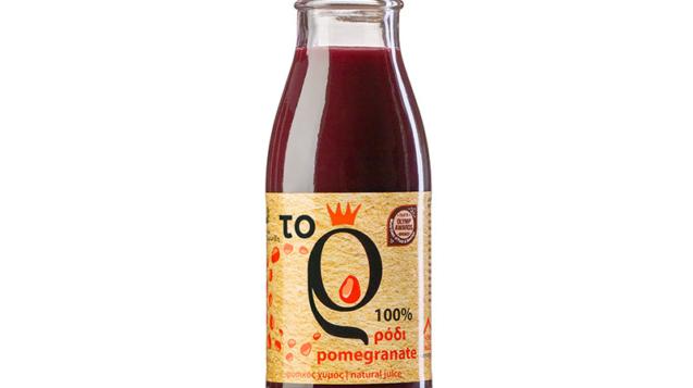 φυσικός χυμός ρόδι