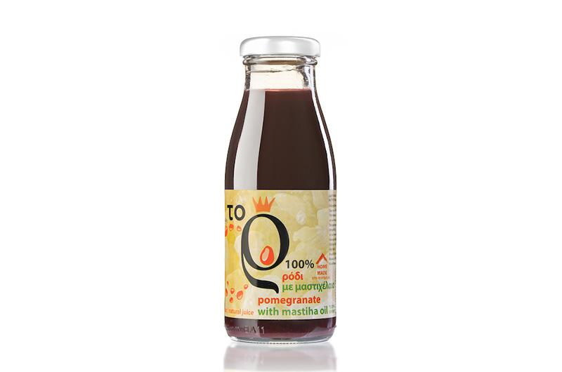 Φυσικός χυμός ρόδι με προσθήκη αυθεντικού μαστιχέλαιου