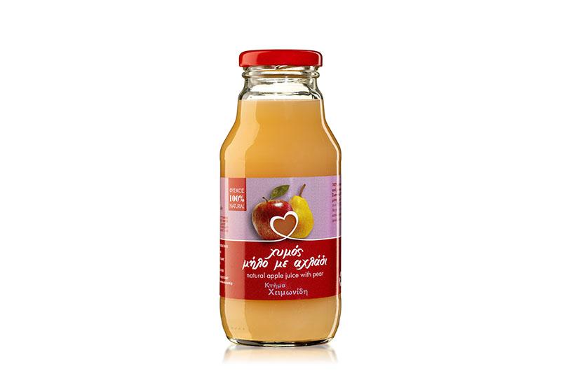 Χυμός Μήλο με Αχλάδι